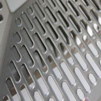 定制304不锈钢冲孔网冲孔围栏铝板圆孔网金属洞洞板装饰网