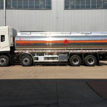 现车供应铝合金油罐车 25吨28吨铝合金油罐车 天龙油罐车价格报价
