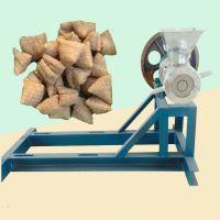 批发可自动切断空心棒加工机械 多功能食品膨化机 小型膨化爆米花机价格