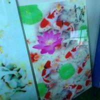玻璃面板3D浮雕打印机 定制玻璃图案UV印花机厂家