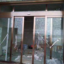 普天安磁悬浮感应门广州配送中心 金属旋转自动门 玻璃折叠门 磁吸隔断门