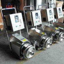 不锈钢卫生级离心泵 饮料泵 酒精泵 敞开式叶轮输送设备 茶水泵