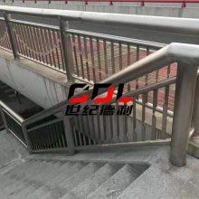 厂家直销不锈钢楼梯立柱 不锈钢玻璃栏杆楼梯扶手工程栏杆立柱