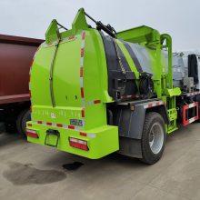 湖北省餐厨垃圾管理办法于2020.3月1日实行-国六东风多利卡10方餐厨圾车