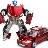 包邮变形玩具男孩合金战神金刚小汽车 儿童玩具黄蜂机器人模型