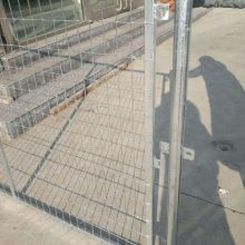 厂家定制热镀锌边框围栏网 优盾热镀锌护栏网 出口安全隔离栅护栏