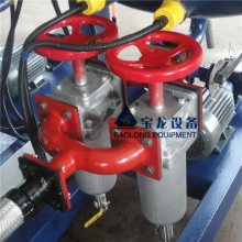 青岛宝龙聚氨酯生产设备PU耐磨皮质产品浇注机