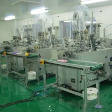 生产口罩机器/一托二全自动口罩生产线/口罩包装机