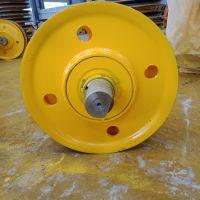 20吨哈瓦洛轴承滑轮组 钢丝绳滑轮组 升降机港机滑轮组