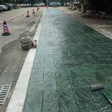 滁州市政压花地坪材料批发,压模地坪施工指导,压花地坪模具供应
