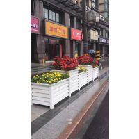 专业定制PVC塑木花箱FX-058