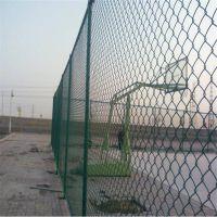 PVC包塑勾花网 运动场防护网 动物园围栏