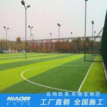 宁德人造足球场草坪造价 幼儿园操场草坪每平方报价