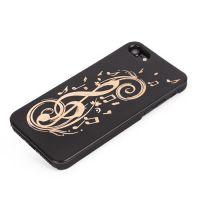 外贸可爱型卡通苹果6 6plus手机壳木质pc塑料贴木iPhone7手机外壳