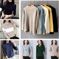 厂家便宜清货女式毛衣尾货毛衣地摊货杂款时尚女装针织衫套头毛衣清
