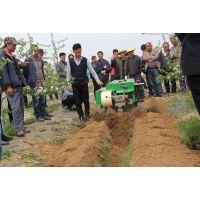 红柚子树施肥机红柚果园开沟施肥机35马力履带式开沟施肥机厂家