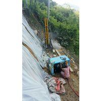 阿坝、茂县高边坡治灾防护小型潜孔钻机