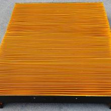 广纳机床导轨防尘罩 导轨风琴防尘罩规格 伸缩式机床防尘罩厂家