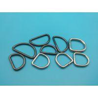 服装D型环扣饰 专业不锈钢D形环厂家 景旺