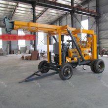 山东久钻拖车式液压钻机型号齐全XYX-3大型岩芯勘探钻机现货直销