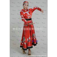 新款蒙古族服装少数民族女装蒙古舞蹈演出服舞台表演服大摆裙