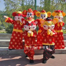 租售郑州人穿卡通玩偶服装米奇米妮卡通衣服行走卡通人偶服装