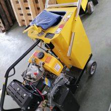 热销款汽油柴油双用切割机 小型高效率马路切割机 水泥路面切缝机