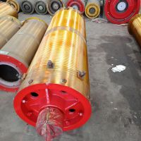 φ500*1500钢丝绳卷筒组 起重机配件卷筒组 天车卷筒组