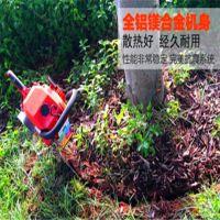 防断导板起树机厂家 广东链条挖树机出厂价 单人断树根起树机