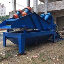 脱水型细沙回收机全套 沙场矿用脱水筛厂家 振动高频细砂回收机