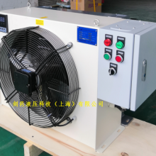剑邑ELA系列自动温控型独立循环风冷式油冷却器_自动温控型自循环液压风冷却器