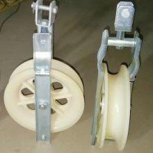 single ACSR pulley;SHD160X40单轮滑车;放线滑车400X100;导地线滑车