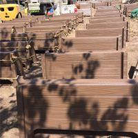 淮南厂家定制优质美观户外花箱 水泥仿木组装式长方形花箱