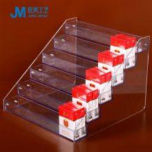 厂家定制亚克力香烟架有机玻璃商场货品陈列架便利店透明小货架