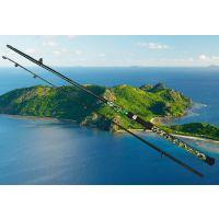 威海特价批发2.28米路亚竿黑鱼竿雷强鱼竿超硬调碳素直柄枪柄渔具