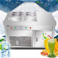 河南隆恒商用炒冰机多少钱__炒酸奶机哪里有卖