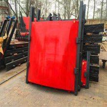 陕西1.0米平板铸铁闸门的安装步骤及要求