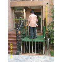 厂家生产销售残疾人轮椅升降机斜挂式无障碍升降平台