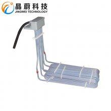 铁氟龙电镀设备用电热管 聚四氟乙烯电热管 防腐加热管
