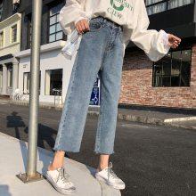 便宜女装牛仔裤便宜高腰女士铅笔裤清货女装裤子弹力小脚裤清货5元以下