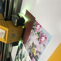 二手瓷砖3D背景墙UV平板打印机