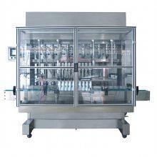 ZH6F-6N全自动直线式活塞灌装机,食品化妆品医药定量灌装机,油脂日化洗涤剂农药化工陶瓷泵灌装机