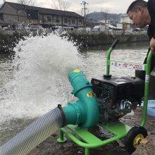 电启动柴油机抽水泵农用高扬程汽油抽水机4寸农业灌溉高压自吸泵生产厂家