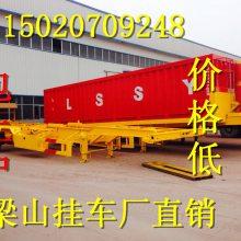 2018行业动态厂家直销定做钩机运输低平板半挂车