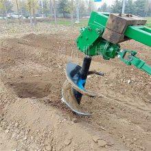 大棚葡萄园栽种挖坑机 经久耐用手提式植树挖坑机汽油打孔机价格