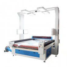 自动送料激光切割机全景摄像大视觉定位服装窗帘布料激光切布机裁剪机