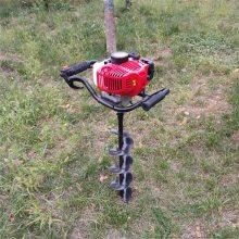 手提式单人挖坑机 苹果树施肥打眼机 工程山地勘察打洞机 志成厂家