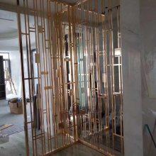 北京不锈钢花格厂家直销青古铜金属花格