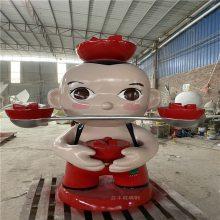 卡通人物雕塑定制_广州卡通人物雕塑_益丰玻璃钢雕塑工艺品