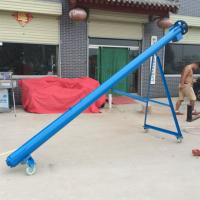 小型管径提升机厂家定做可移动式螺旋上料机鼎信